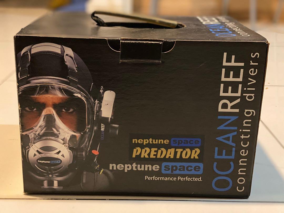 Neptune Space Predator - Full face dive mask