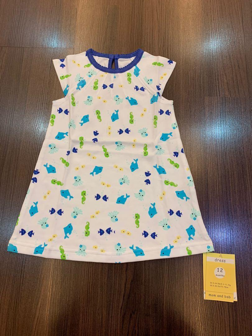 NEW dress mom n bab sz 12m