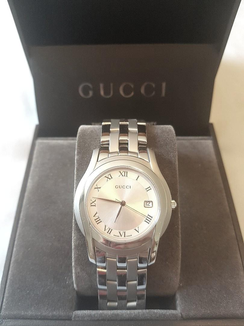 NEW GUCCI stainless steel watch