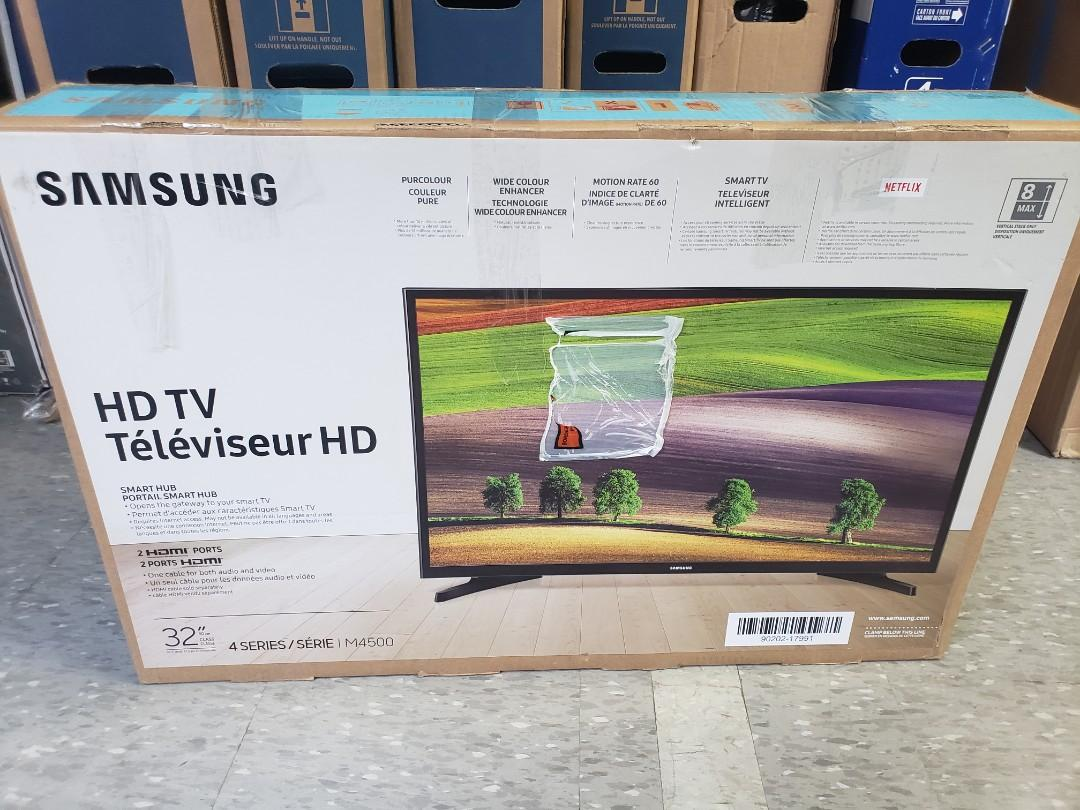 "NEW SAMSUNG 32"" M4500 SMART LED TV ONLY $200 NO TAX!!"