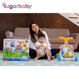 NEW SUGAR BABY 10IN1 PREMIUM BABY WALKER ACTIVITY TABLE PUSHWALKER