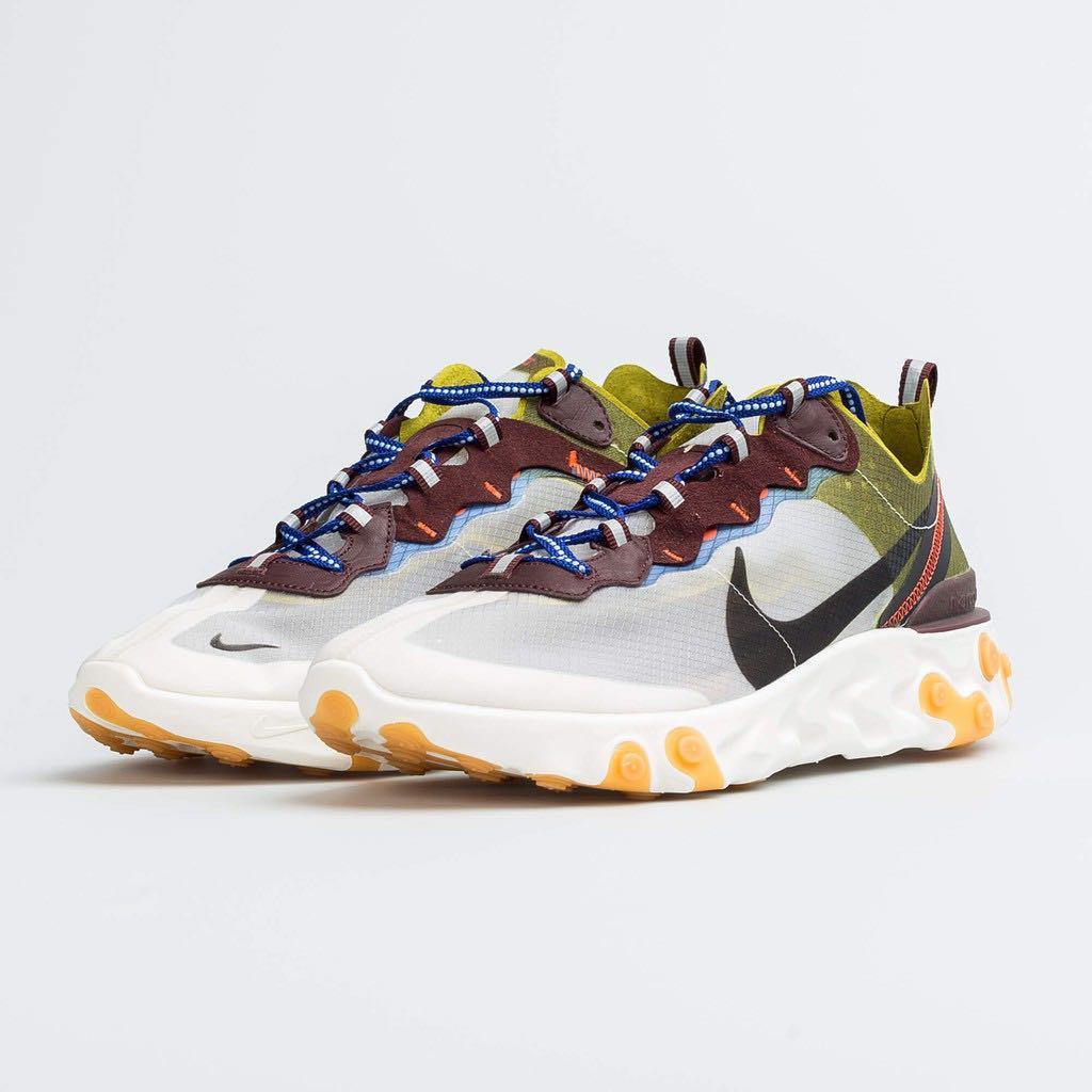 Nike element87 透明 跑鞋 拼接 日本限定 us12