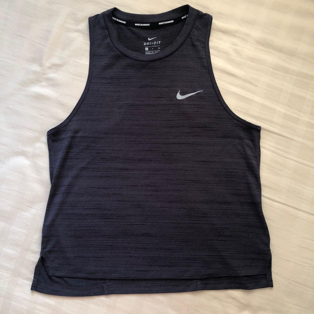 Nike Women Tank Top Dark Grey