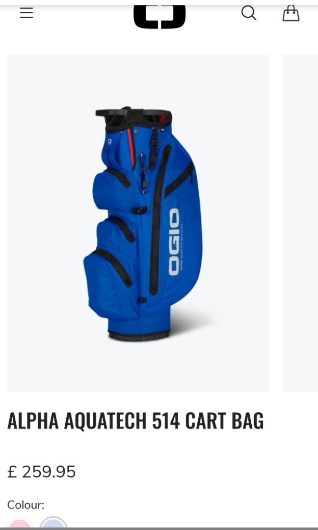 OGIO waterproof cart bag
