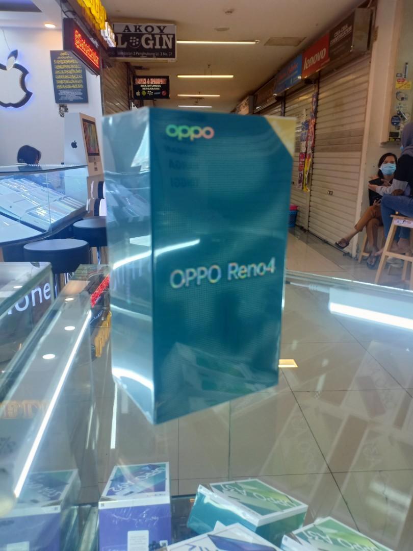 OPPO Reno 4  Bisa kredit tanpa CC proses mudah & Cepat