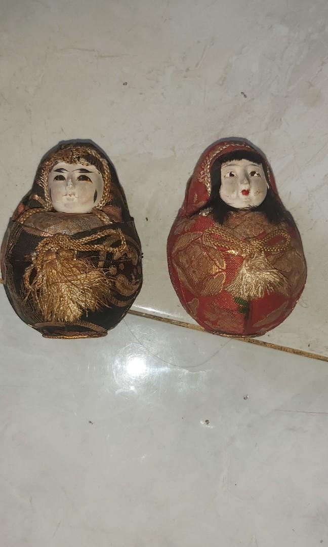 Pajangan boneka unik sepasang