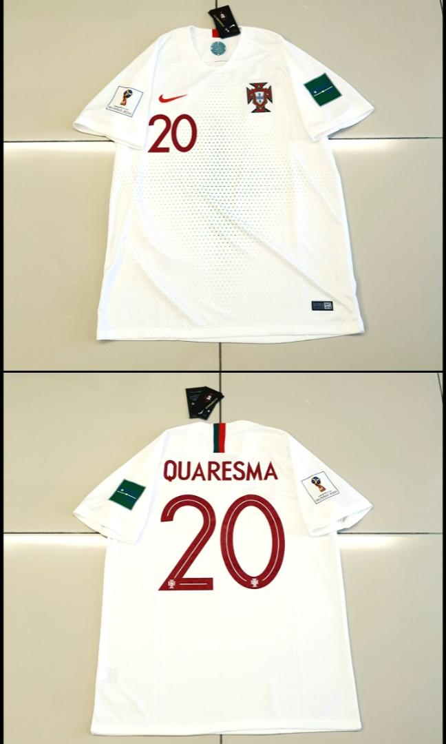 Portugal FIFA World Cup 2018 Away Jersey #20 QUARESMA