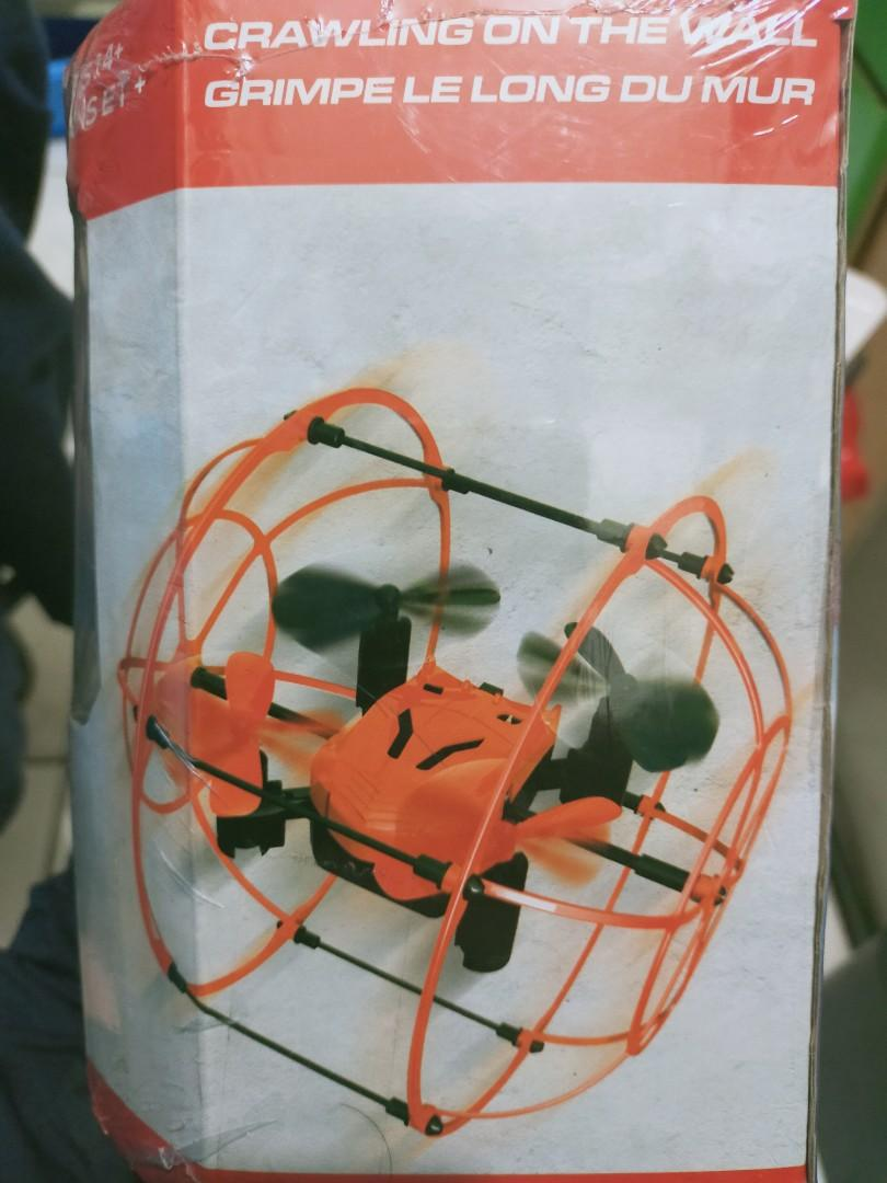 Quadcopter drone is