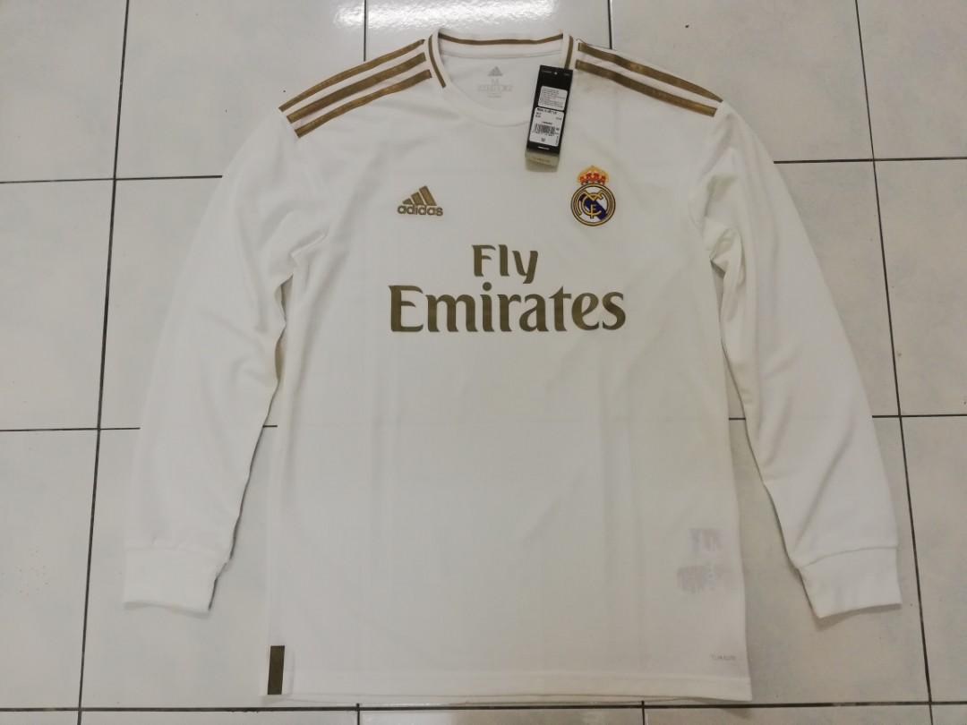 Real Madrid 1920 LS home Jersey
