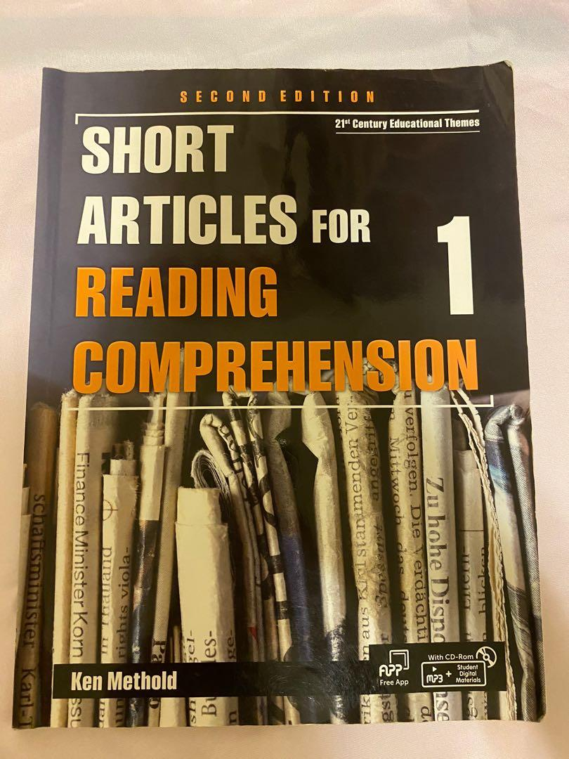 Short Articles for Reading Comprehension 1 2/e (with CD-ROM)