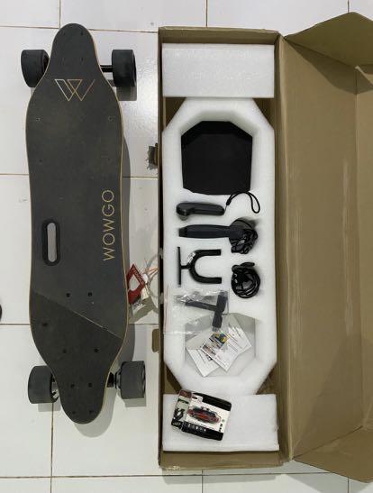 Skateboard Electric / Elektrik WOWGO Dual Hub Motor