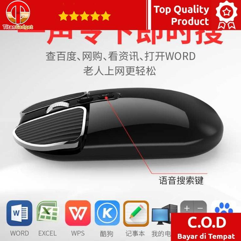 Smart AI Mouse Wireless with Translation Voice Function - M203 TitanGadget