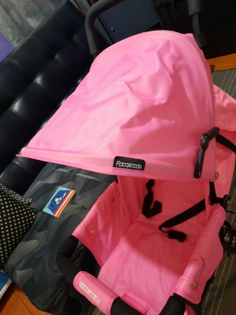 Stroller pink