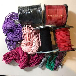 Suede leather flat string cord DIY GOOD QUALITY