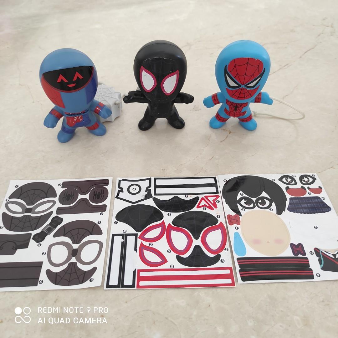 Take All! Mainan Anak Happy Meal Spiderman