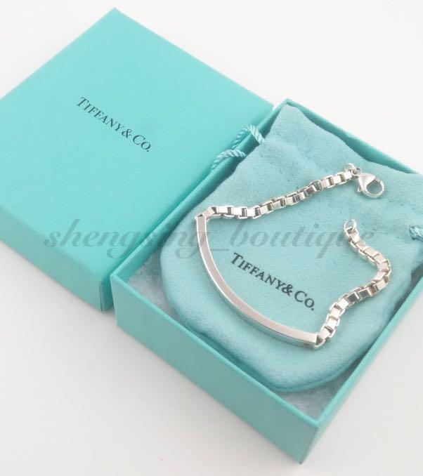 [二手正品]TIFFANY&Co. 925純銀 威尼斯手鍊 19cm