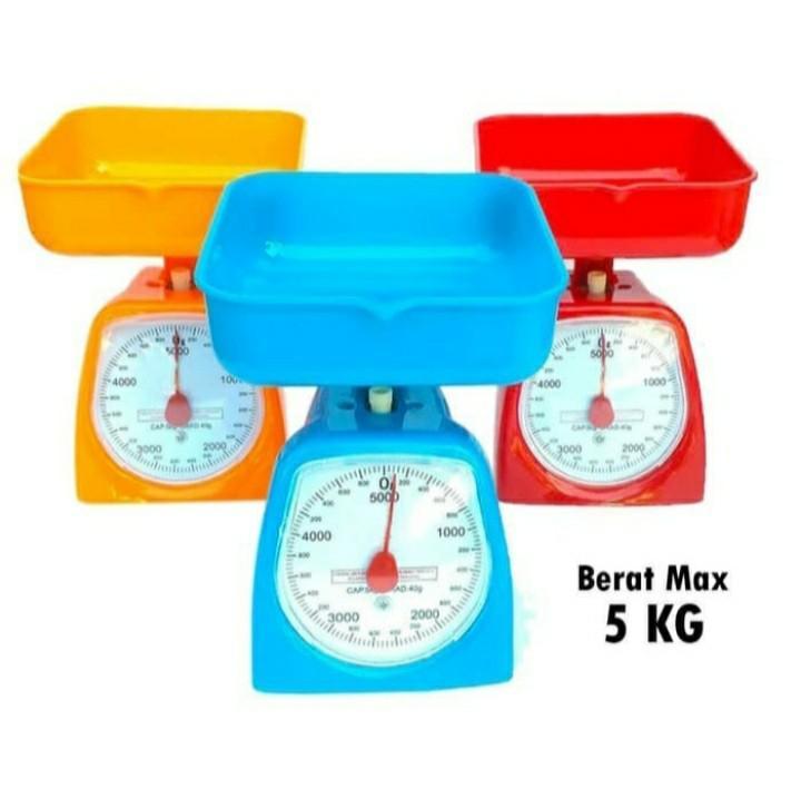Timbangan kue analog timbangan dapur manual 5 kg