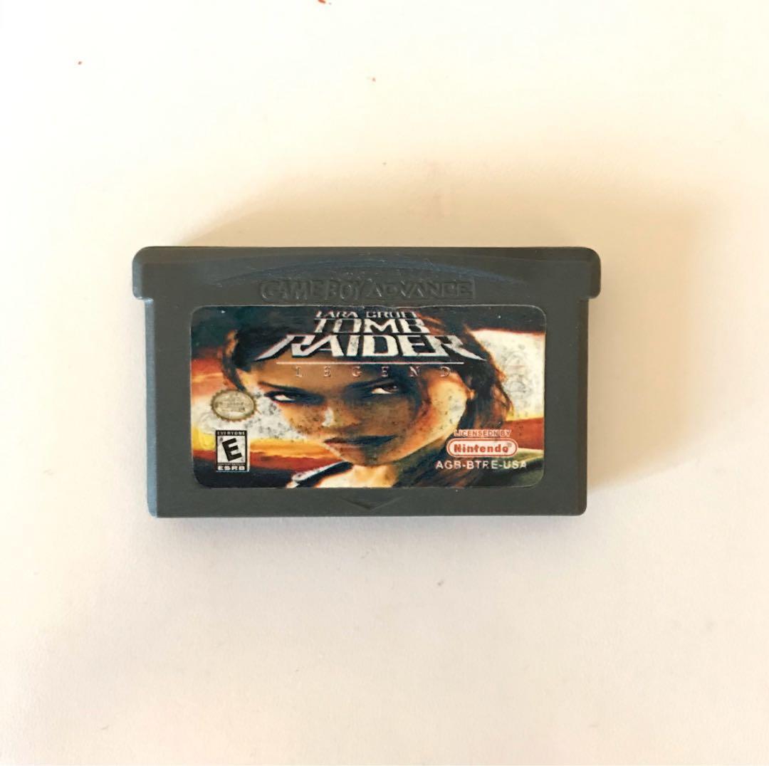 Tomb Raider Gameboy Advance