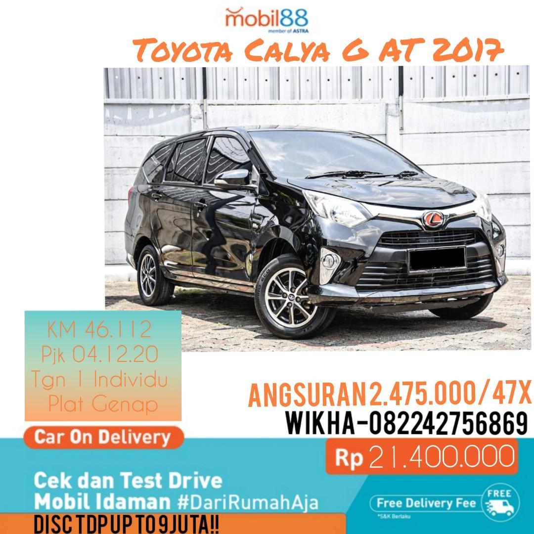 Toyota Calga G AT 2017