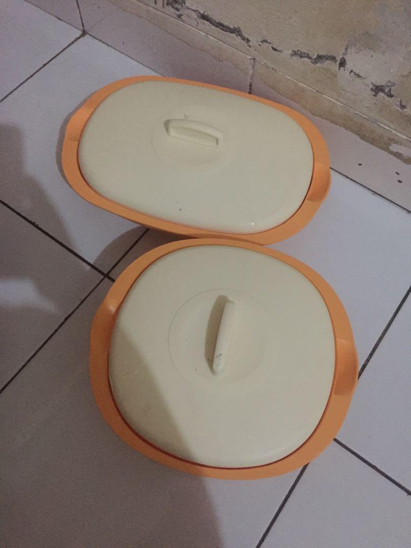 tupperware 2 pcs