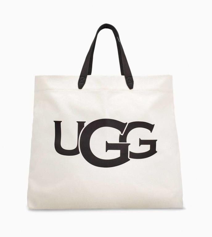 UGG   Canvas Logo Tote Bag