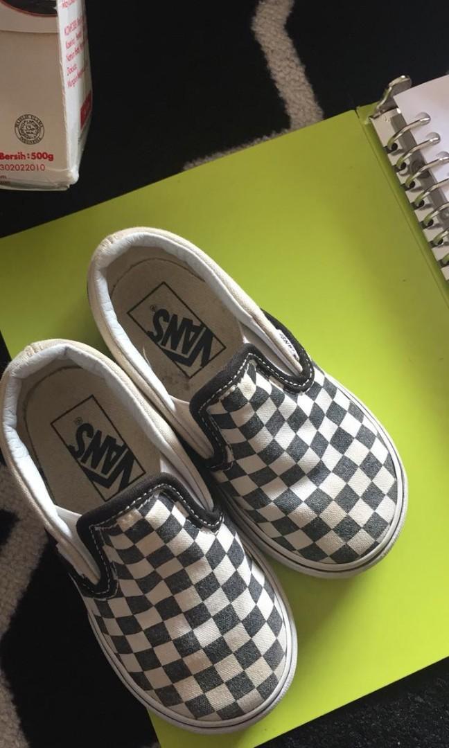 Vans Slip On Checkerboard anak original