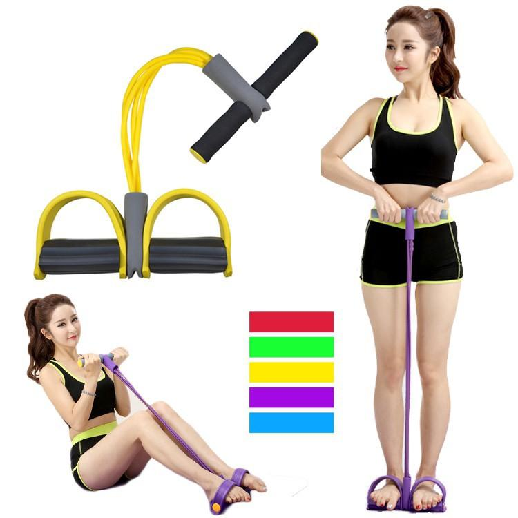 Warbase Pull Rope Elastic Resistance band Exercise Body Home Fitness Sit Up 7202