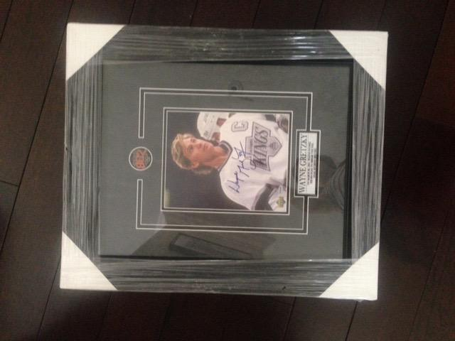 Wayne Gretzky Autographed L.A. Kings Framed Picture