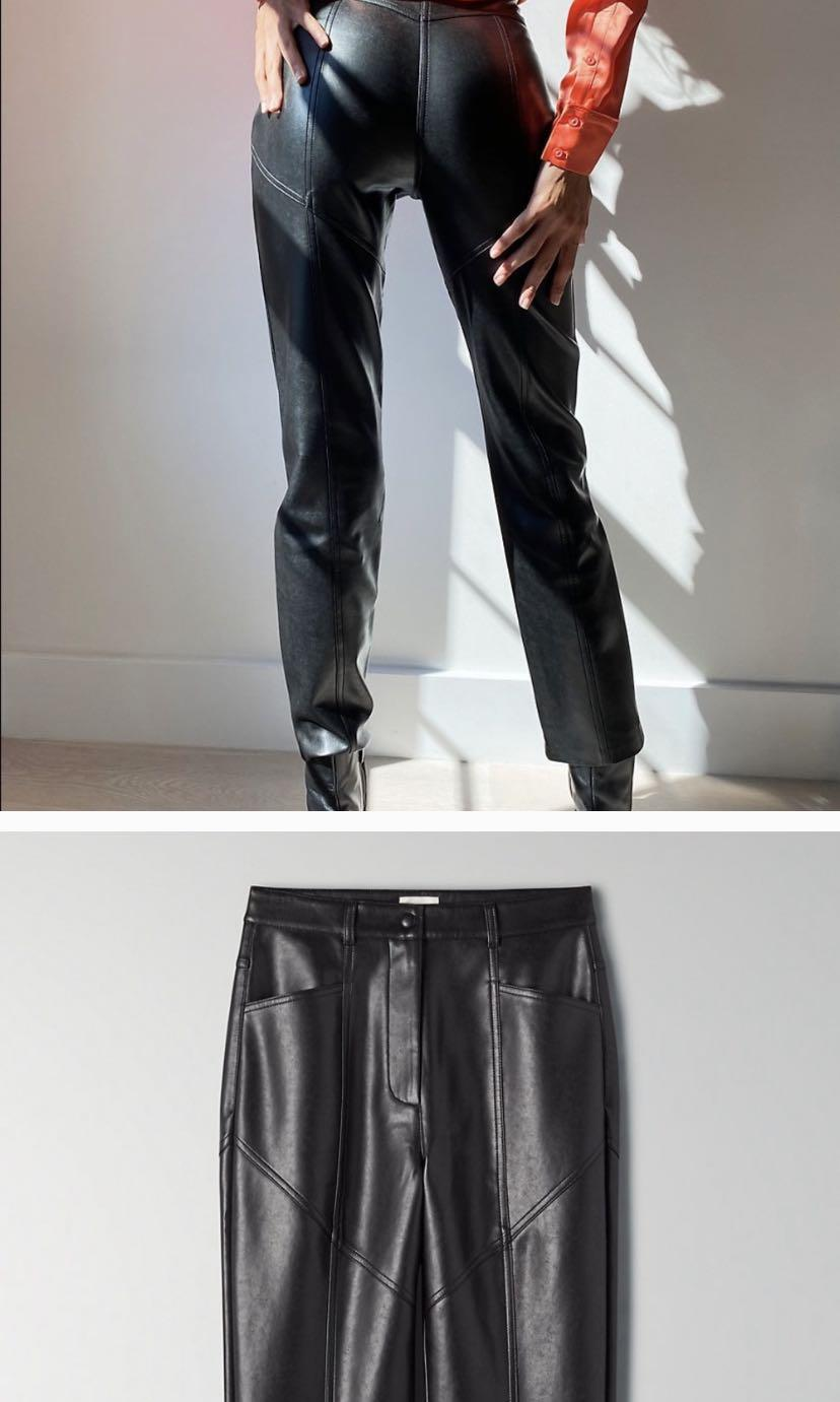 ARITZIA WILFRED REBEL LEATHER PANTS