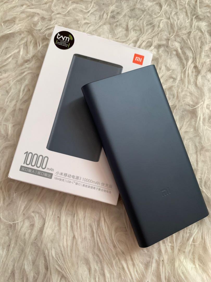 Xiaomi PowerBank 3 10000mAh FastCharging