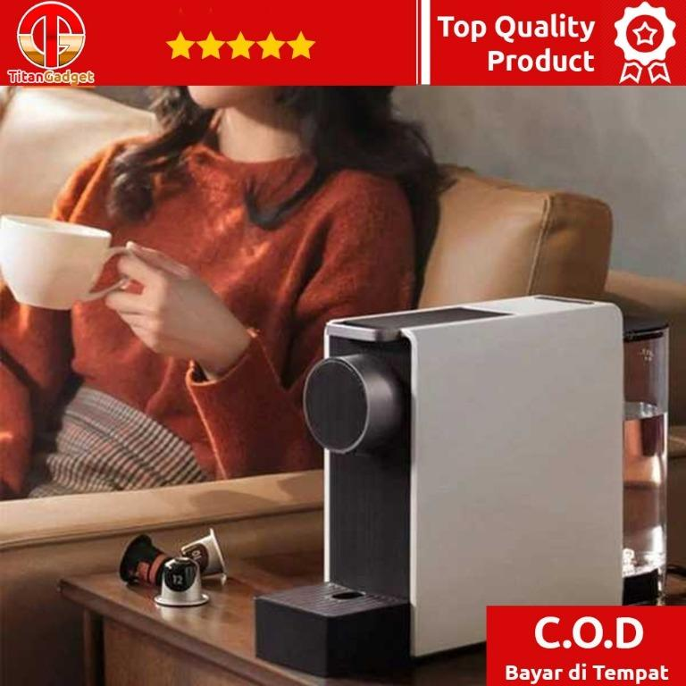 Xiaomi Scishare Mini Mesin Kopi Espresso Coffee Maker 19 Bar - S1201 TitanGadget