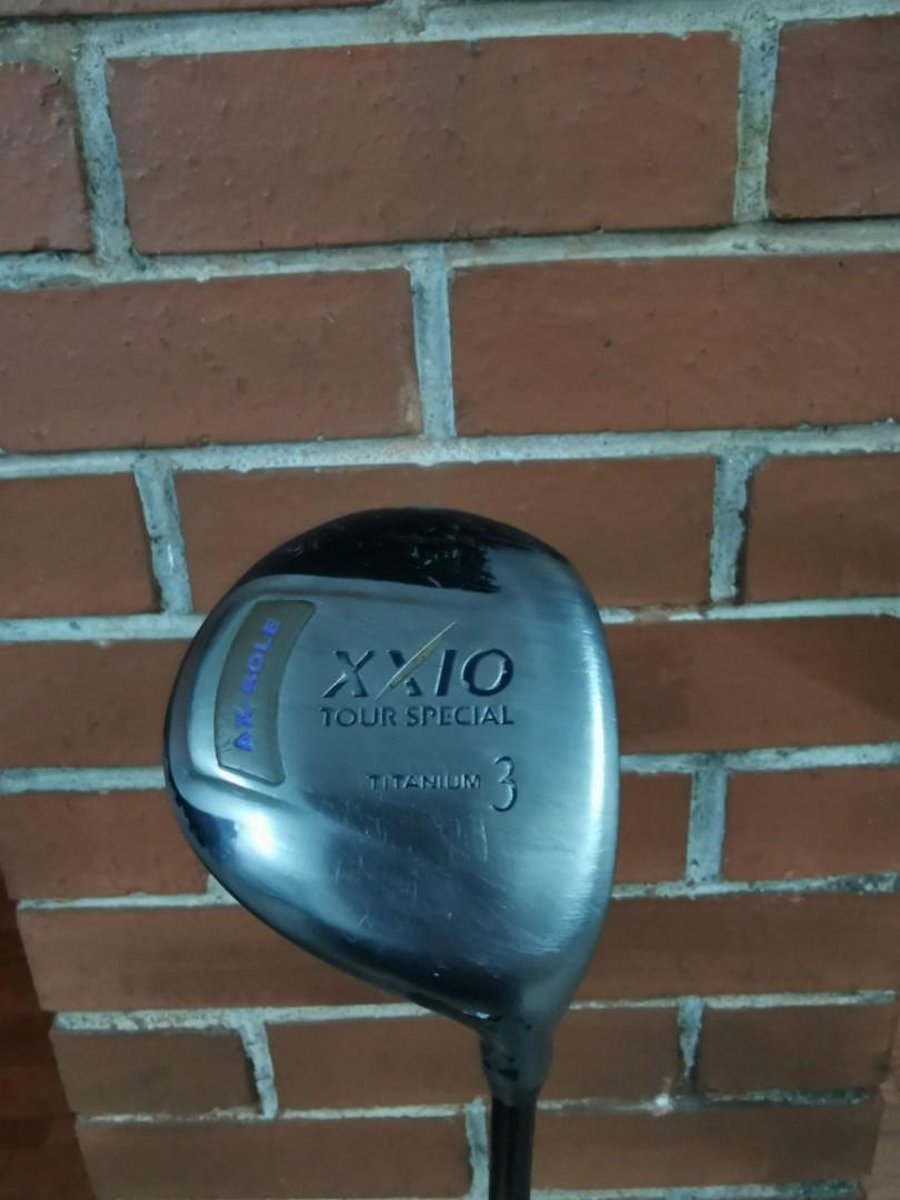 XXIO Wood 3 with new Tour AD YSQ Ultra light shaft