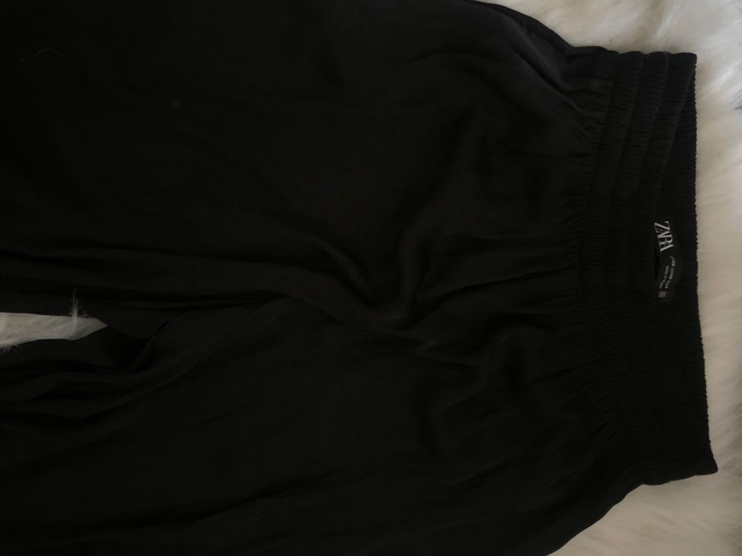 Zara silk bottoms