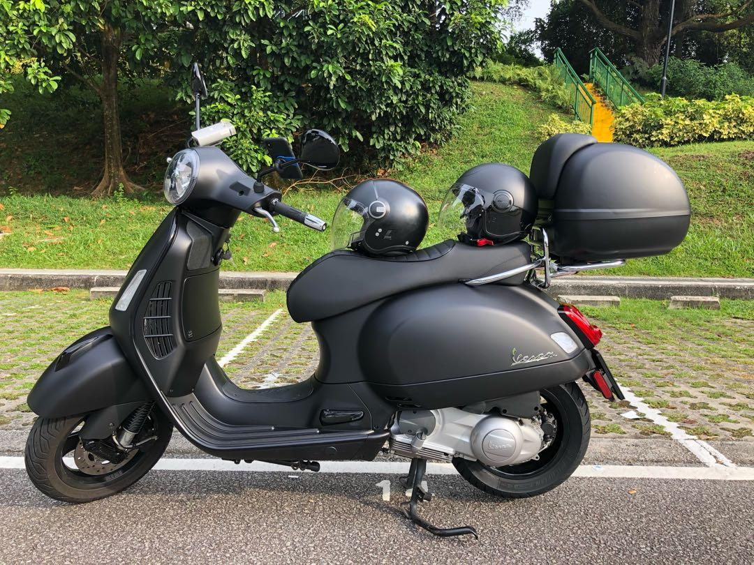 2019 Vespa Special Series Gts Super Notte 300 In Elegant Matt Black Motorcycles Motorcycles For Sale Class 2a On Carousell