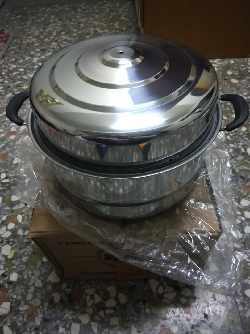 2layer Stainless steamer