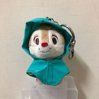 奇奇蒂蒂 雨衣 吊飾  香港迪士尼