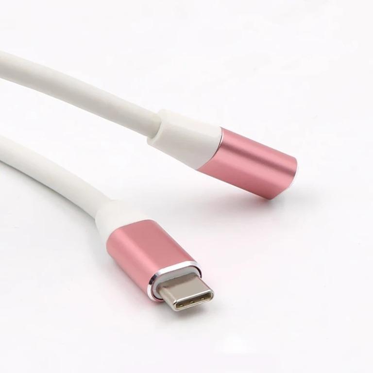 品名: type-c延長線全功能16芯公轉母USB3.1傳輸線鋁合金外殼(顏色隨機)1M J-14647
