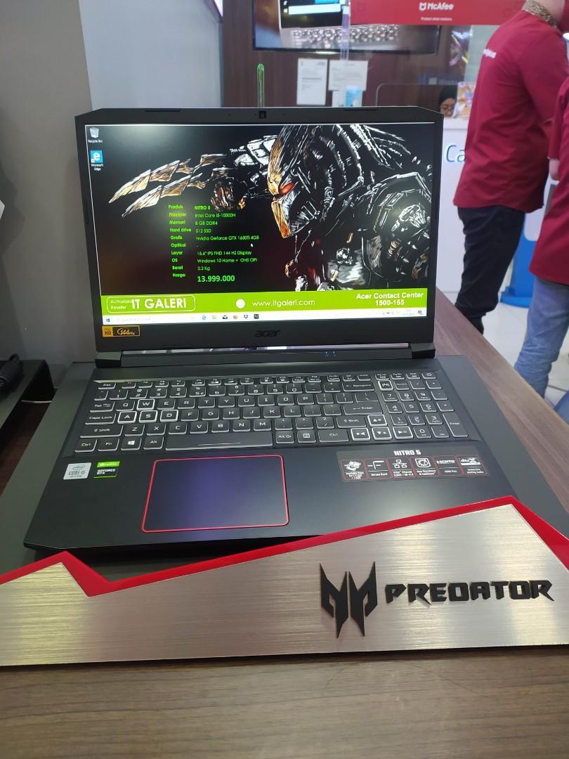 Acer Nitro i5 10300H GTX1650Ti 4 GB 15.6 Inch
