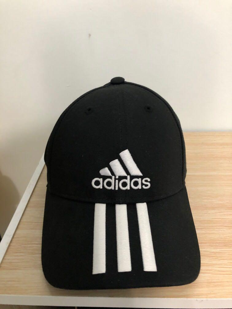 愛迪達adidas三條線帽子