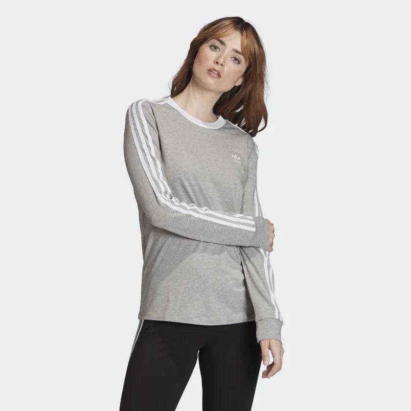 Adidas Grey Long sleeve tee