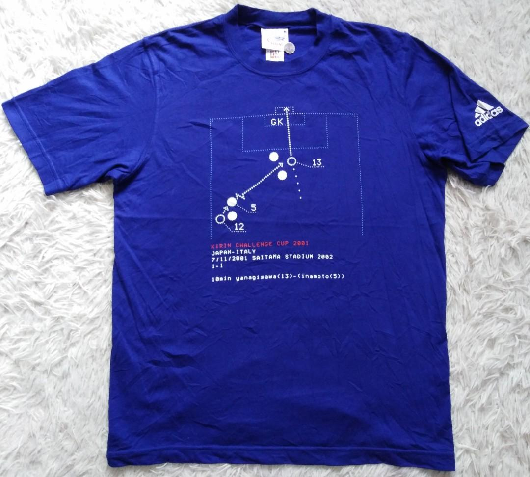 ADIDAS KIRIN JAPAN FOOTBALL CLUB JFA TSHIRT