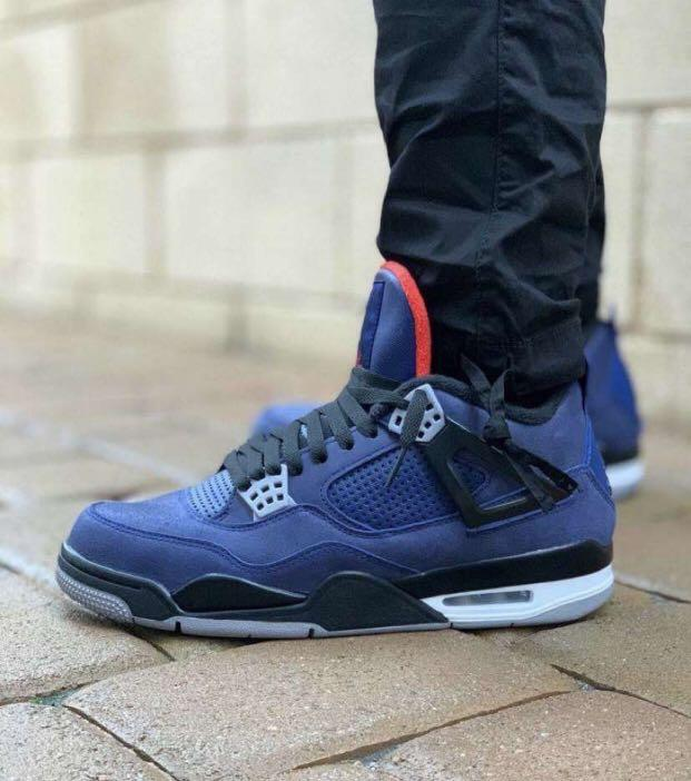 """Air Jordan 4 winter """"loyal blue"""""""