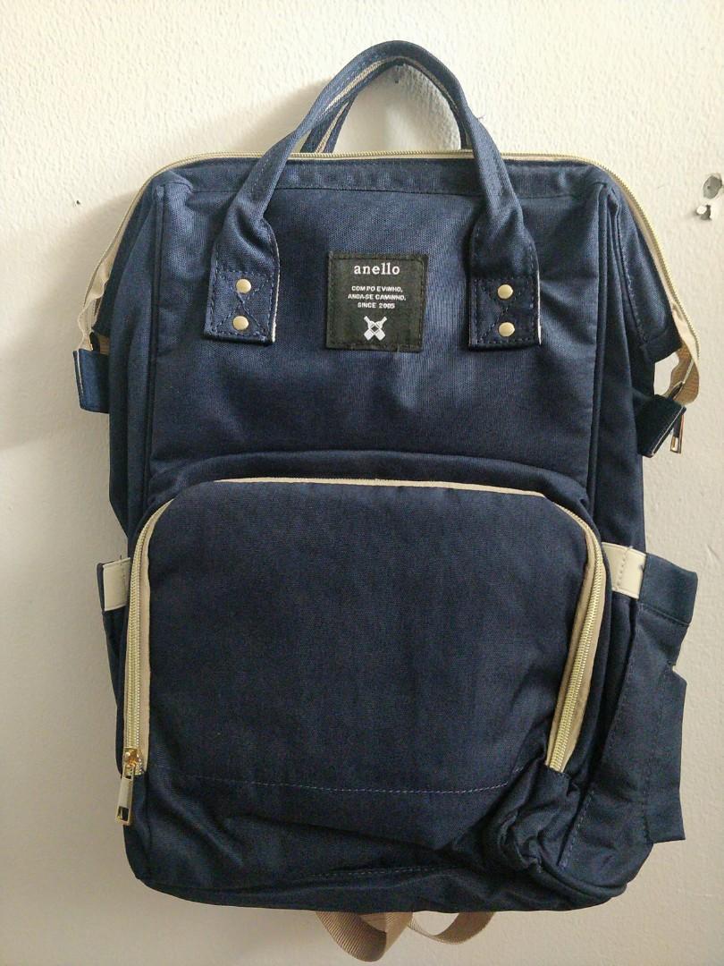 Anello Diaper bag baru navy