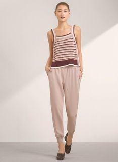 Aritizia Babaton Buffon crepe pants/joggers camille(pink) sz L