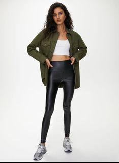 Aritzia Daria Leather Pants