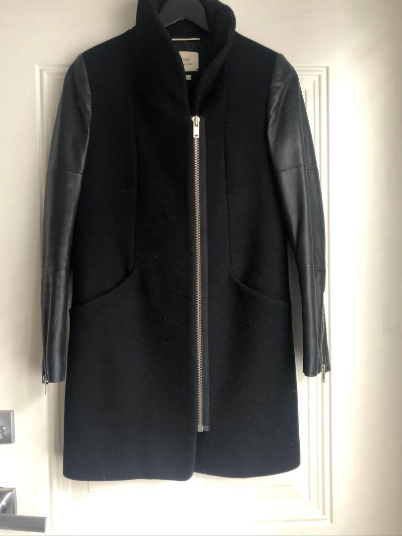 Aritzia Wilfred Wool Jacket -Black XS