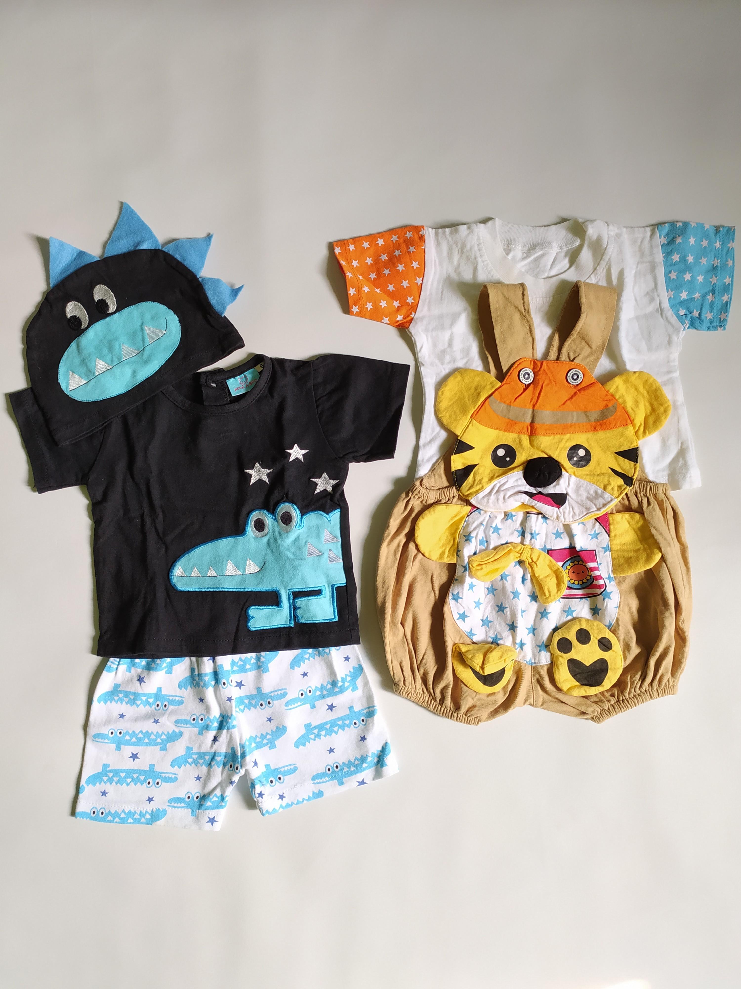 Baby Set Setelan Baju Bayi 3m+