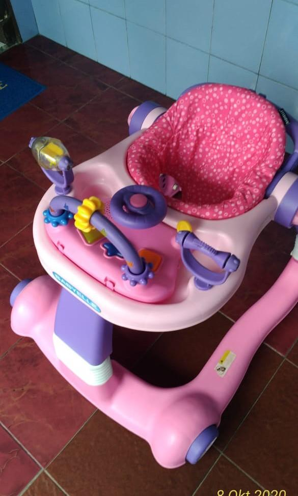 Baby Walker Baby Elle Second Pink