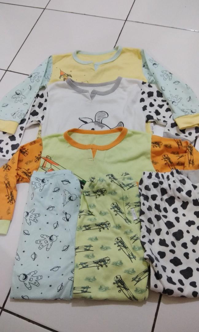 Baju tidur anak 3 tahun