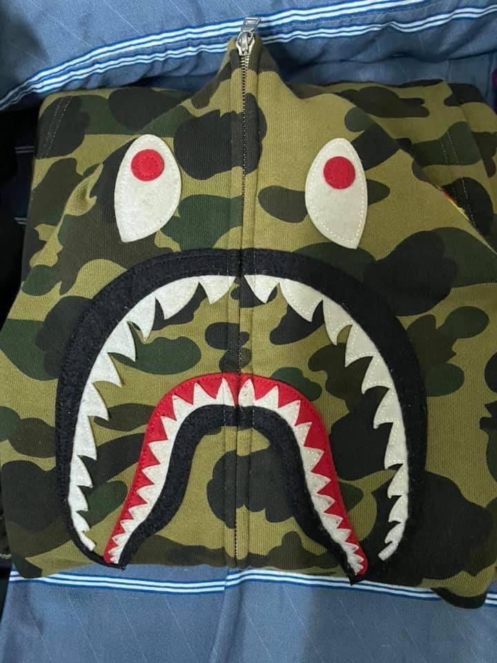 BAPE 鯊魚外套 8成新